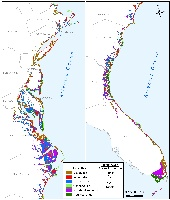 Likelihood of Shore Protection from Cape Cod to Key West