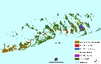 Key West and Big Pine Key, Monroe County, Florida:  sea level rise planning map
