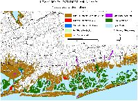 Nassau County, New York: sea level rise planning map
