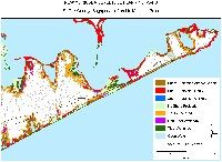 Montauk Point, New York: sea level rise planning map
