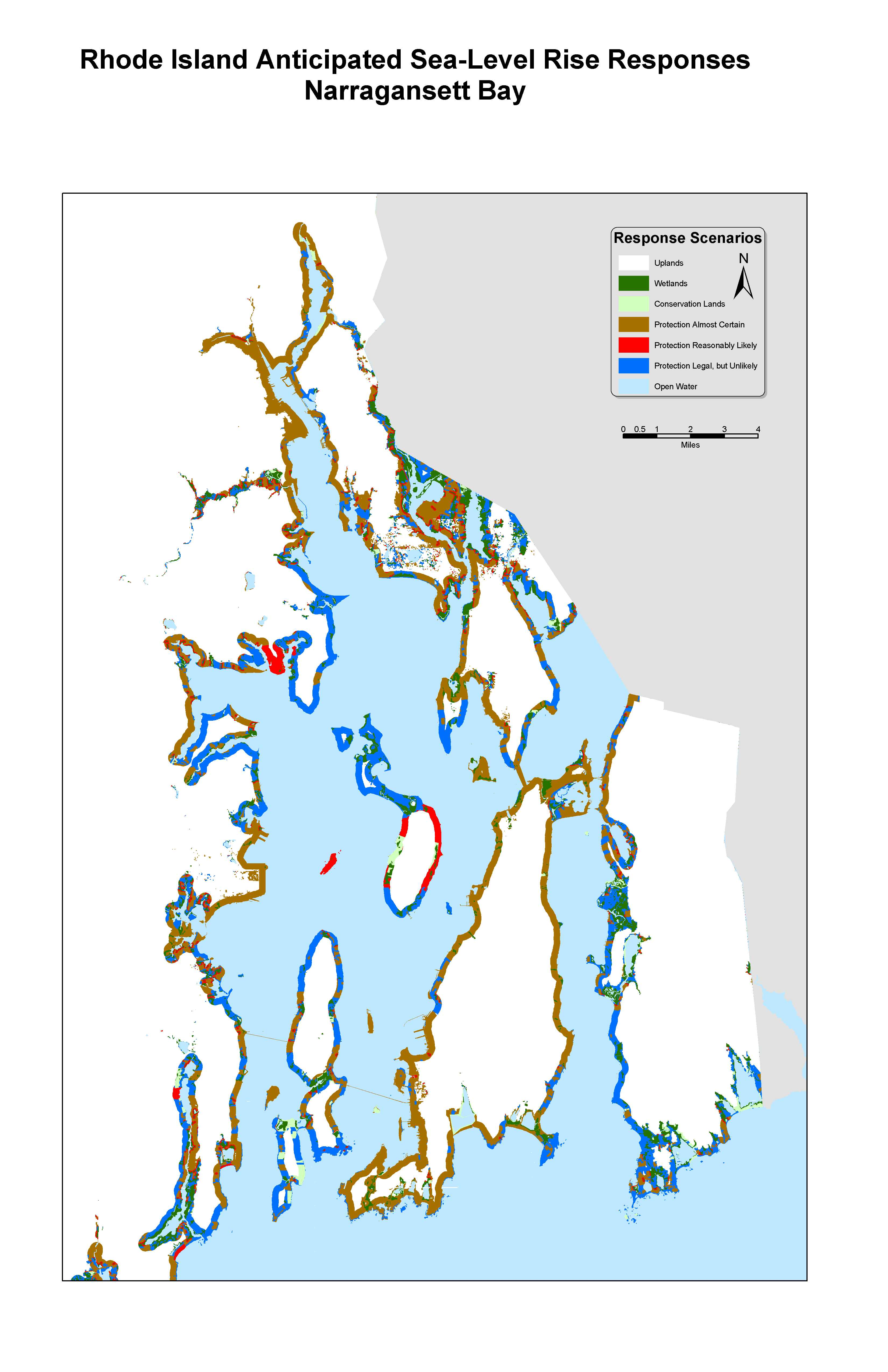 Sea Level Rise Planning Maps Likelihood Of Shore Protection In - Florida uplands map